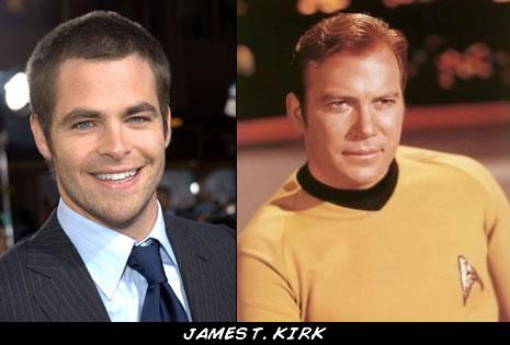 El nuevo Capitán Kirk de la USS Enterprise